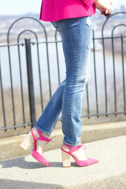 Dee Keller Mallory Pink Heels