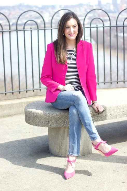 Pink Dee Keller Heels