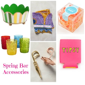 Spring Bar Cart Accessories