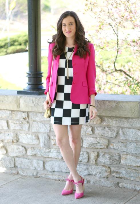 Black and White Checkered Dress Forever 21
