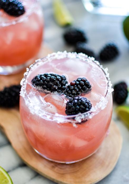 Blackberry Lime Margarita Recipe