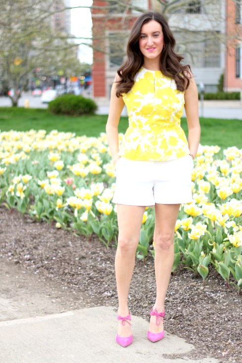 Colorblocked Spring Outfit