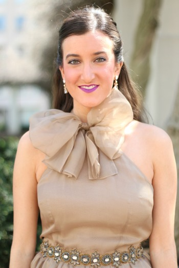Alexandra Grecco Luna Bow Dress