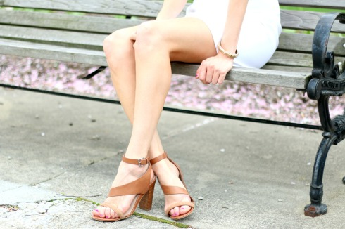 French Connection Brown Leather Sandals