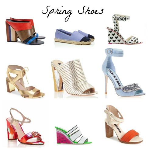 Spring 2015 Designer Women's Shoes