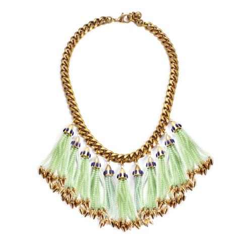 Lulu Frost Tassel Necklace