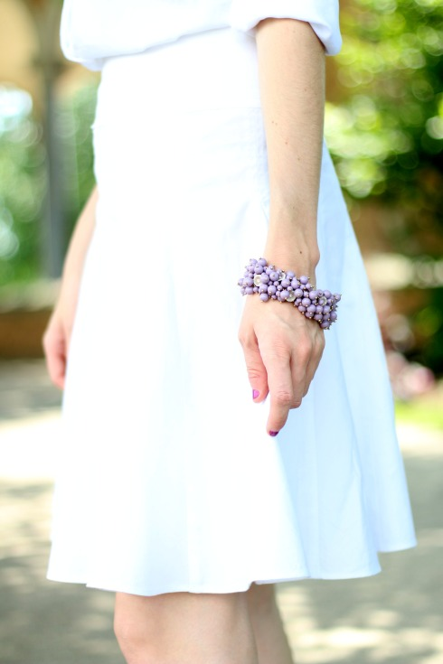 Purple J.Crew Bracelet