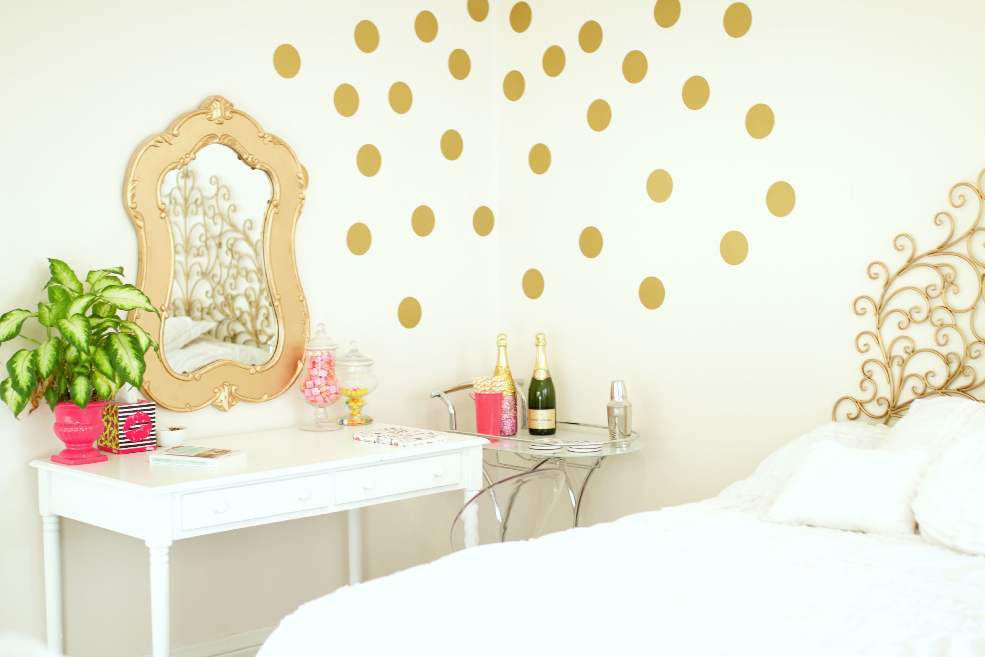 Bedroom inspiration baubles to bubbles