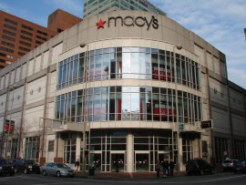 Macy's Fountain Square
