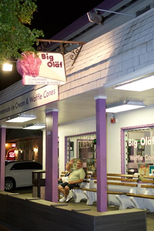 Big Olaf Ice Cream Siesta Key