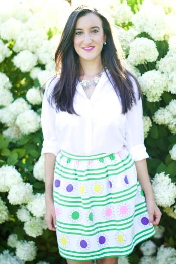 Colorful Vintage Skirt
