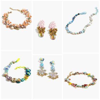 J.Crew Colorful Statement Jewelry