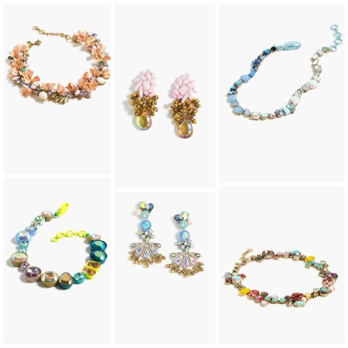 J.Crew Colorful Statement Jewelry