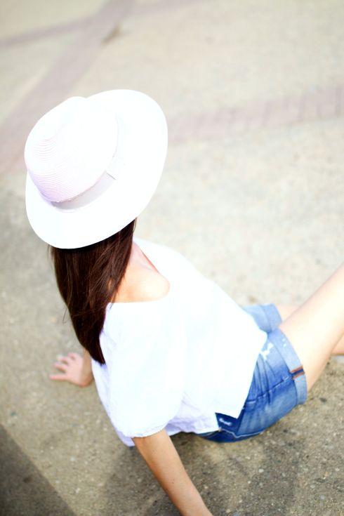 Pink Anthropologie Hat