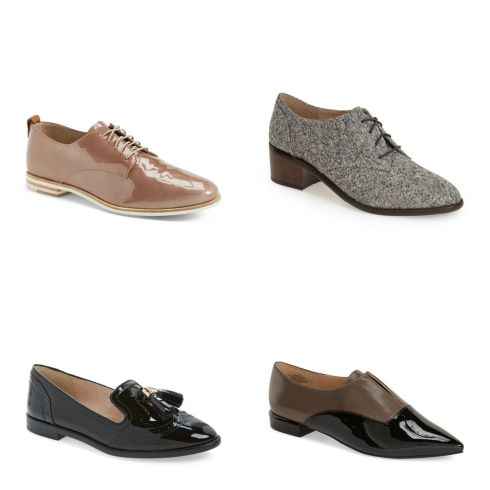 Nordstrom oxfords loafers