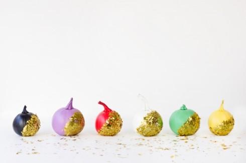 Colorful Confetti Pumpkins DIY