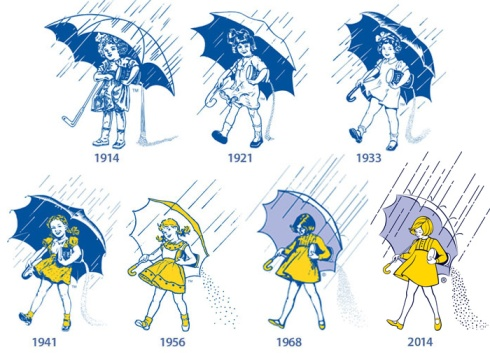 Morton Salt Girl History