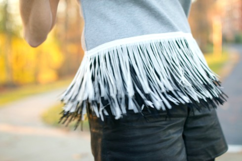 Black and Grey Fringe