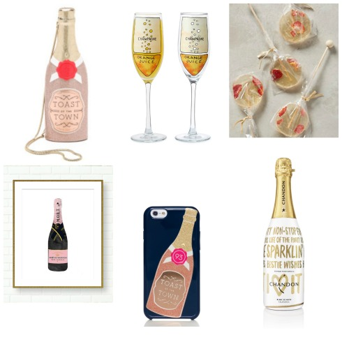 champagne themed gift ideas