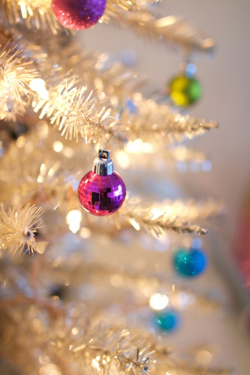 Pink Disco Ball Ornament