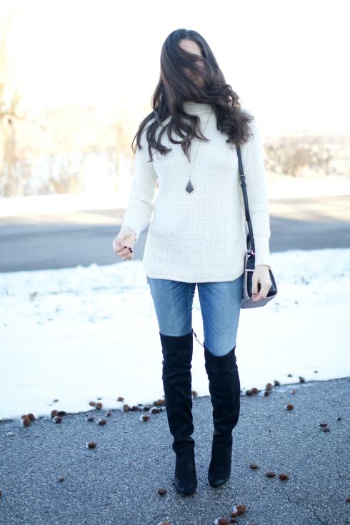fashion blogger outtake