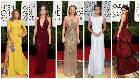 Golden Globes 2016 Best Dressed List