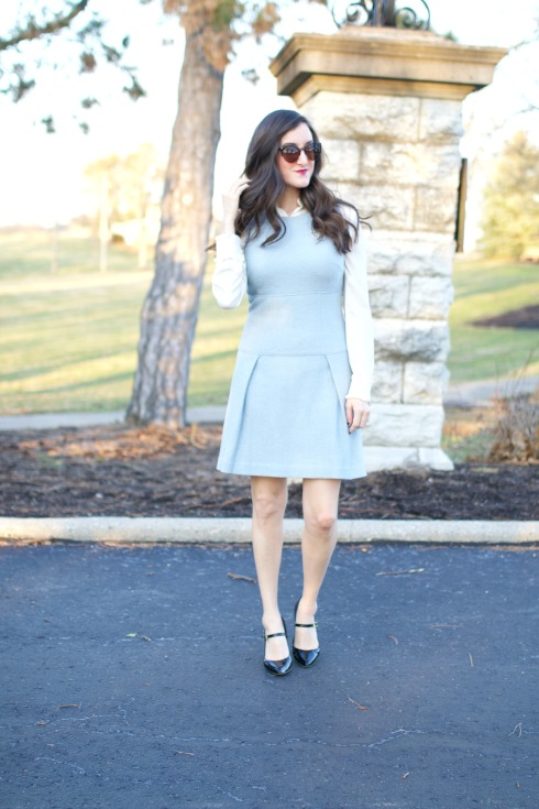 How To Layer with a Dress