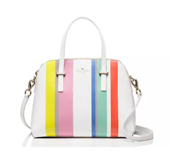Kate Spade Stripe Cedar Street Handbag