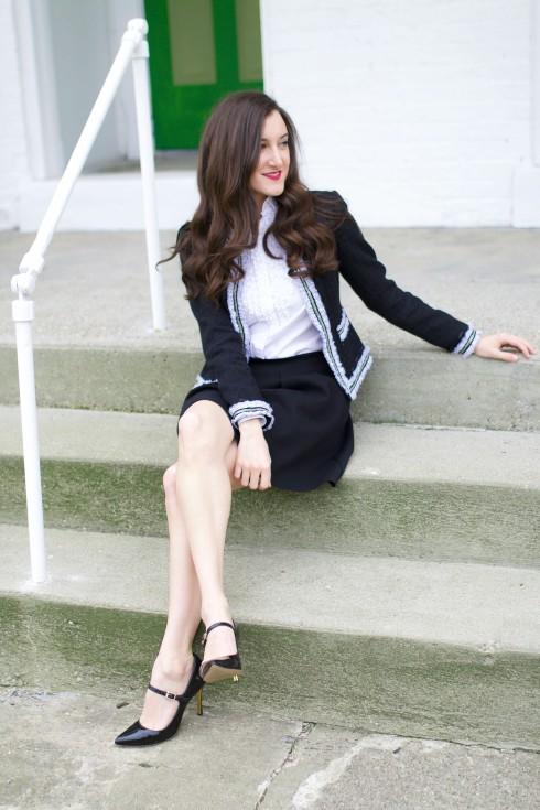 Black Madewell Skirt