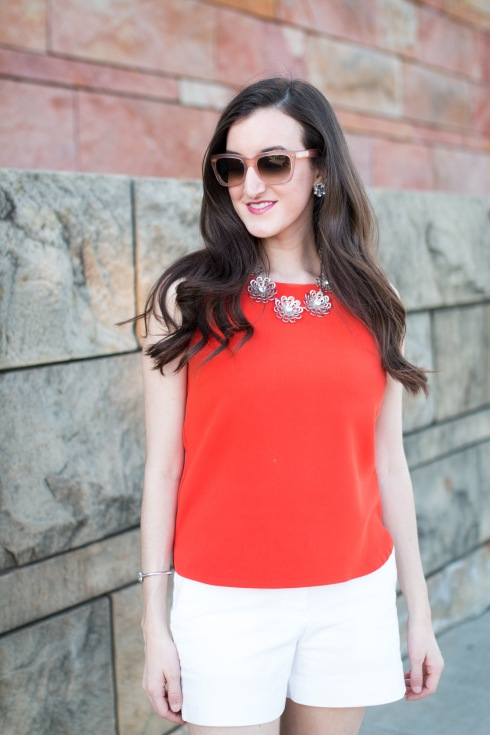 Bright Orange Top