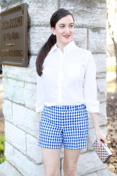 Jcrew Checkered Shorts
