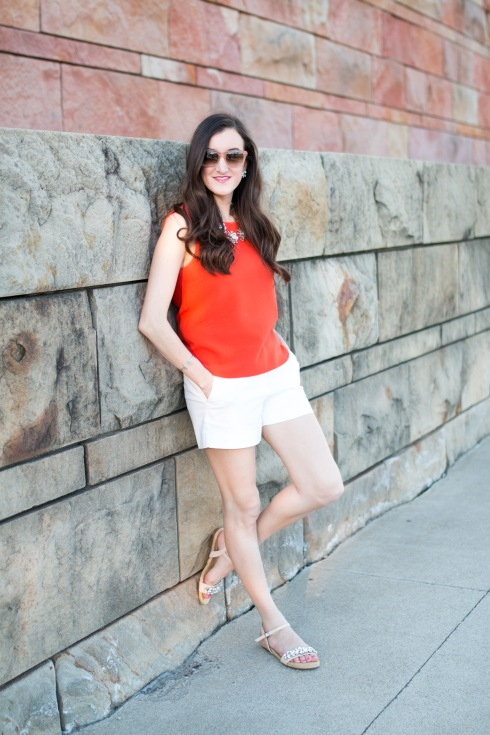 White JCrew Shorts
