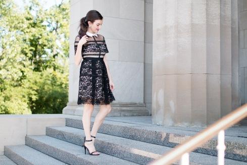 Donna Morgan Lace Dress