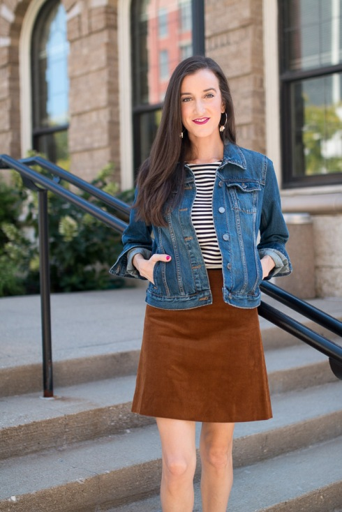 Jcrew Corduroy Skirt