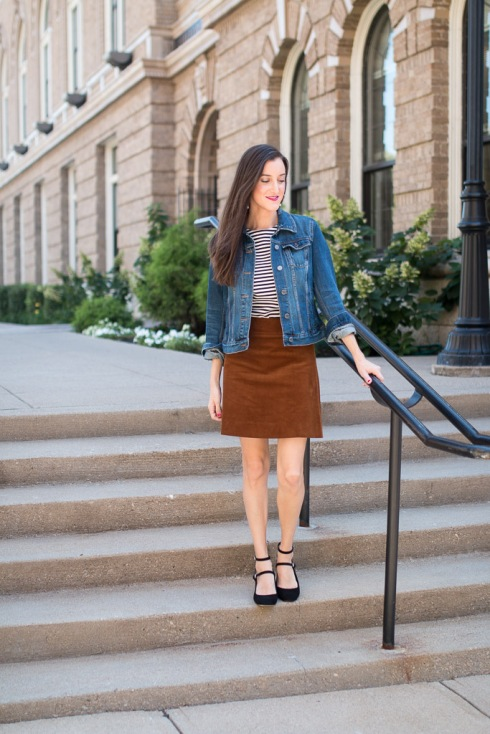 JCrew Corduory Skirt